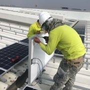 屋頂太陽能 太陽能光電系統, 太陽能光電