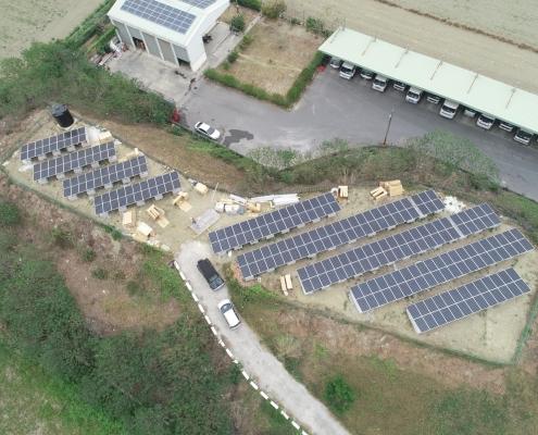地面型太陽能, 太陽能光電系統, 太陽能光電